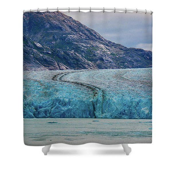 Alaska Glacier Shower Curtain
