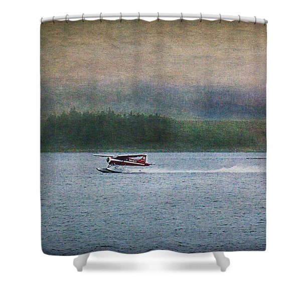 Alaskan Floatplane Shower Curtain