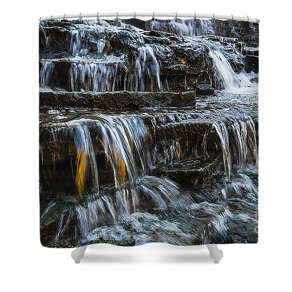 Albion Falls Shower Curtain