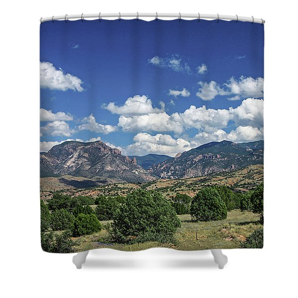Aldo Leopold Wilderness, New Mexico Shower Curtain