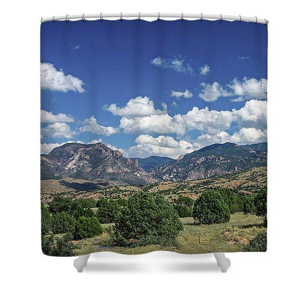 Aldo Leopold Wilderness, New Mexico Shower Curtain