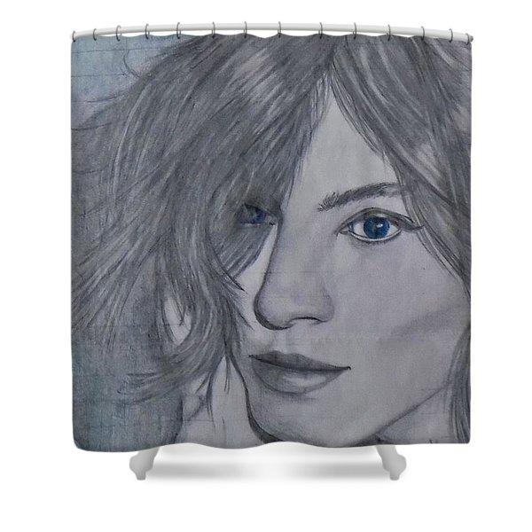 Alexa Chung Shower Curtain
