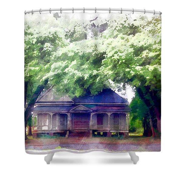 Alexandria House Shower Curtain