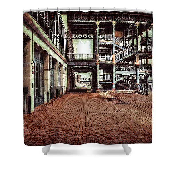 Algiers Ferry Dock Shower Curtain