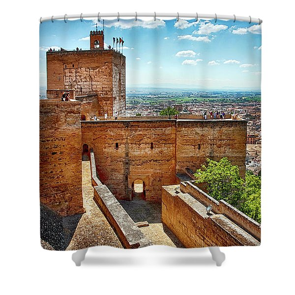 Alhambra Tower Shower Curtain