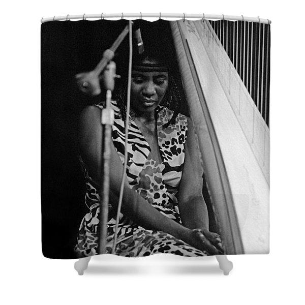 Alice Coltrane Shower Curtain