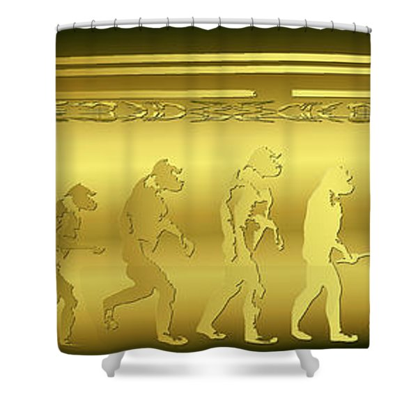 Shower Curtain featuring the photograph Alien Evolution by Robert G Kernodle