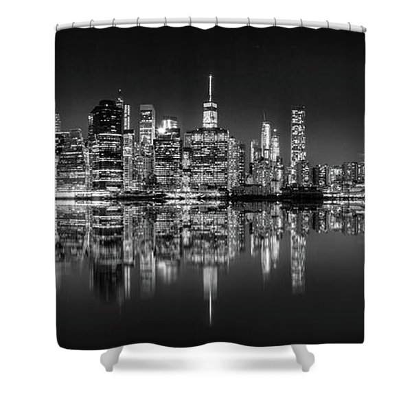 Alive At Night Shower Curtain