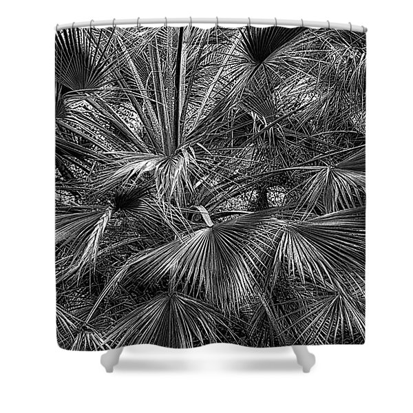 All About Textures Shower Curtain