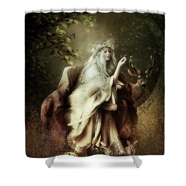 All Creatures Great And Small Shower Curtain