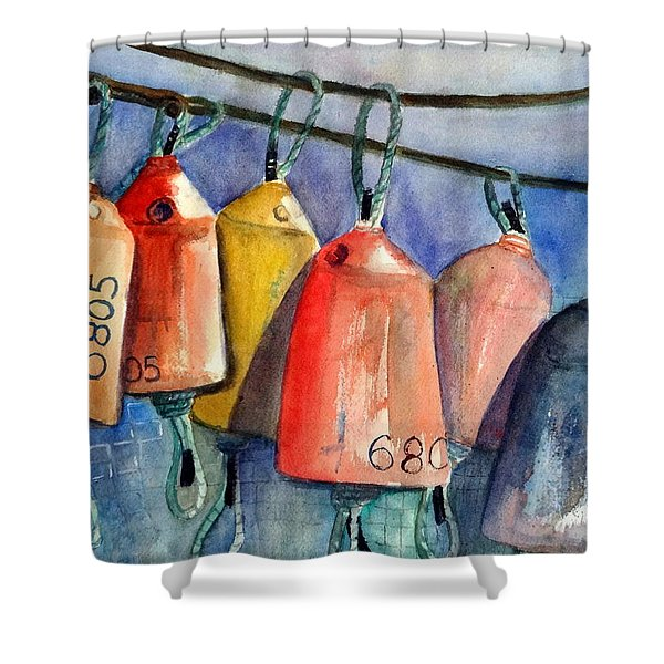 All Hung Up Shower Curtain
