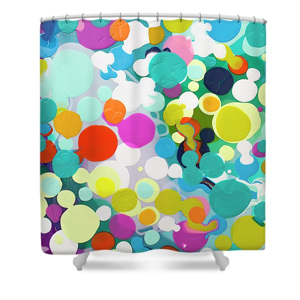 All In The Timing Shower Curtain