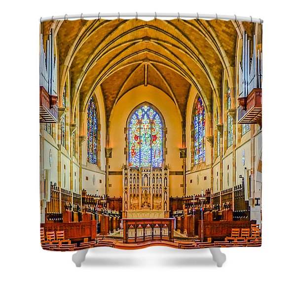 All Saints Chapel, Interior Shower Curtain