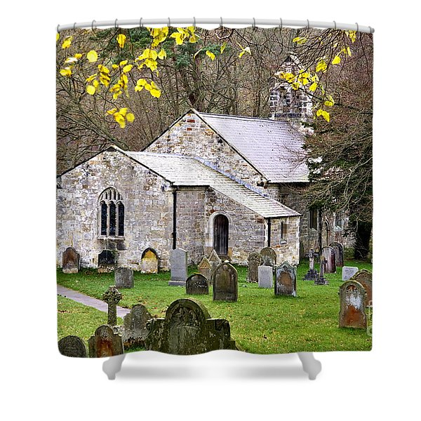 All Saints Church Hawnby Yorkshire Uk Shower Curtain