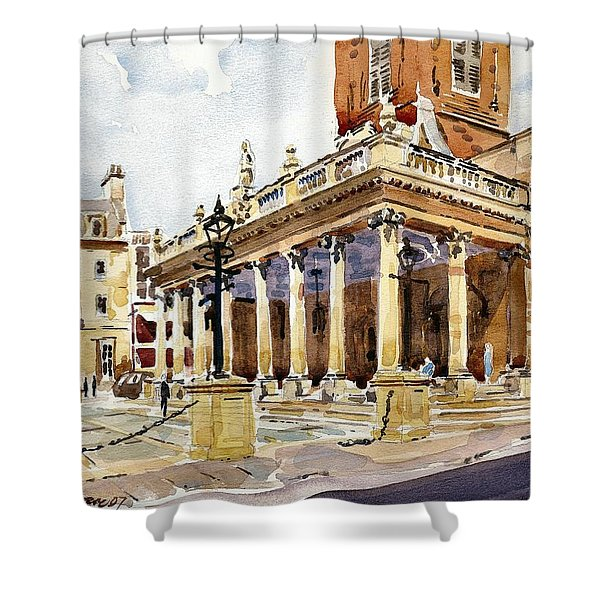 All Saints Church Northampton Shower Curtain