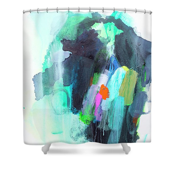 All The Creatures In My World Shower Curtain