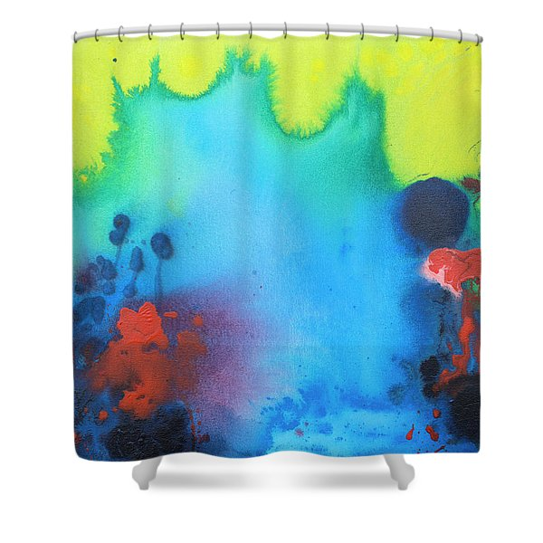All The Noise Shower Curtain