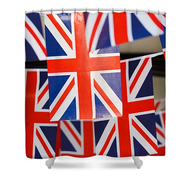 All Things British Shower Curtain