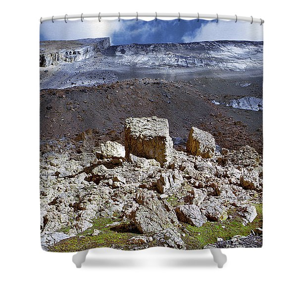 All Things Rock Shower Curtain