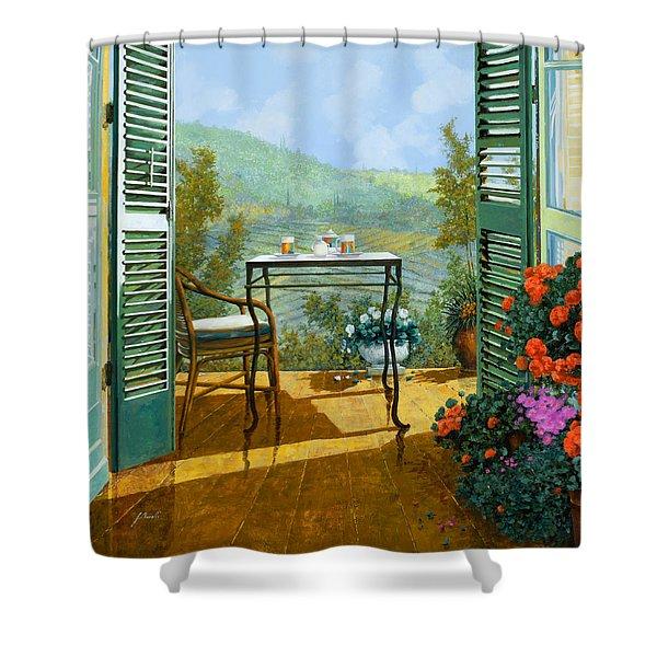 Alle Dieci Del Mattino Shower Curtain