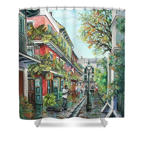 Alley Jazz Shower Curtain