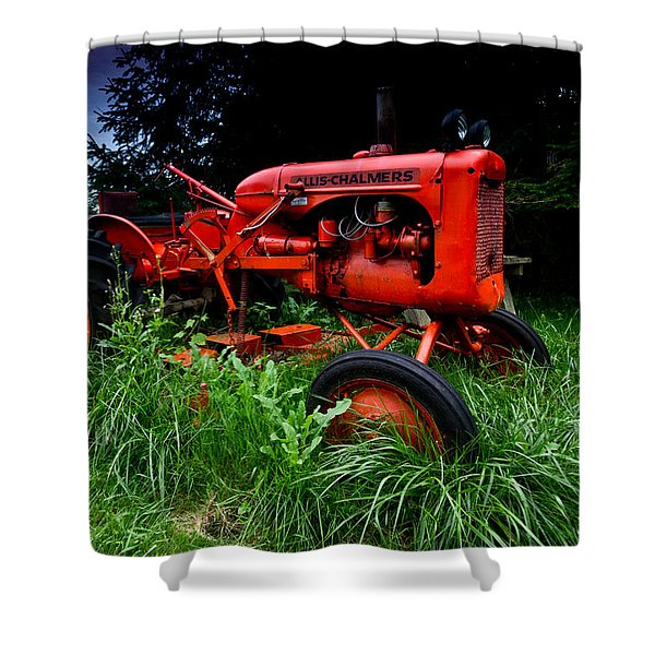 Allis Chalmers Tractor Shower Curtain