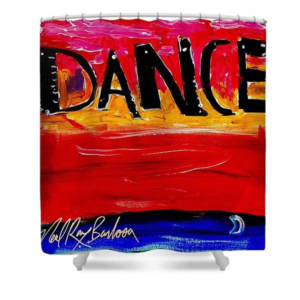 Allways Dance Shower Curtain
