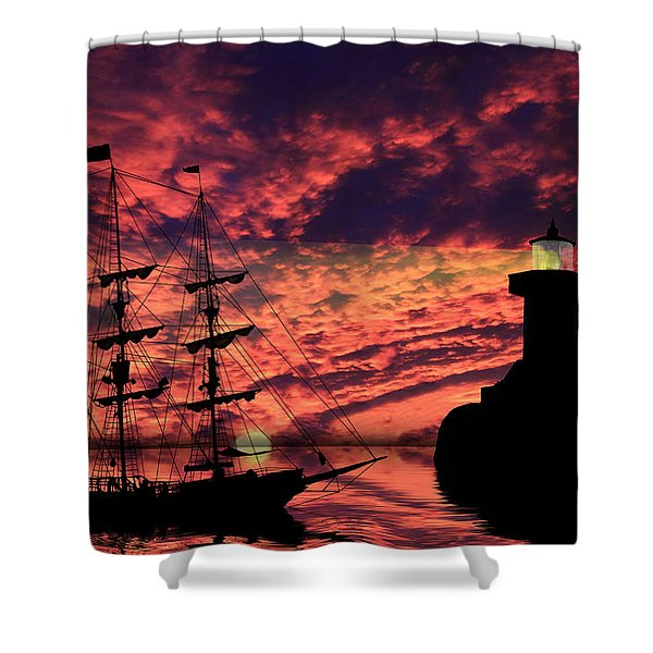 Almost Home Shower Curtain