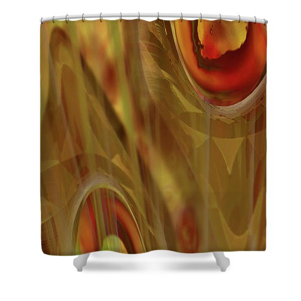 Almost Resting Shower Curtain
