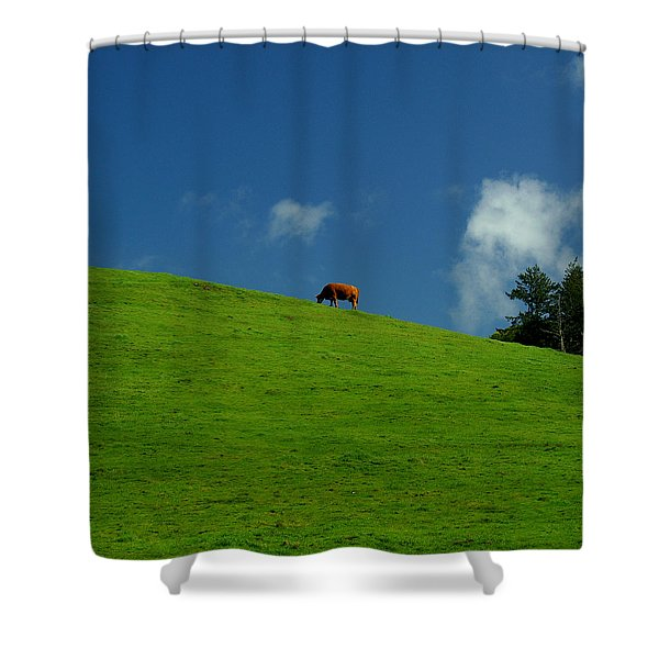 Alone Again - Squared Shower Curtain