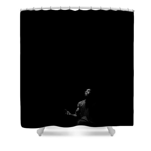 Alone? Shower Curtain