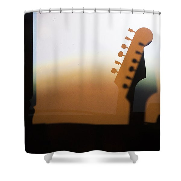 Along 6th Street Shower Curtain