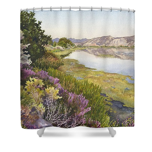 Along The Oregon Trail Shower Curtain
