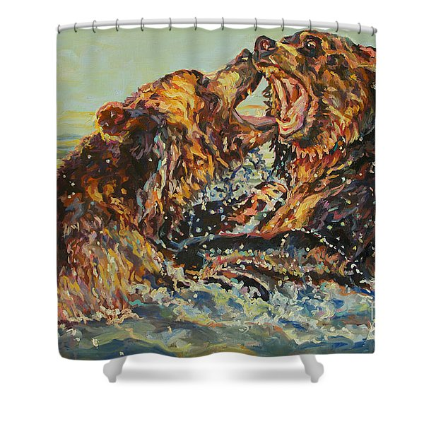 Alpheus And Tamesis Shower Curtain