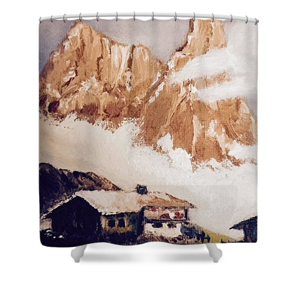 Alpine Home  Shower Curtain