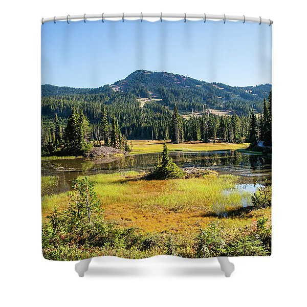 Alpine Meadows - 1 Shower Curtain