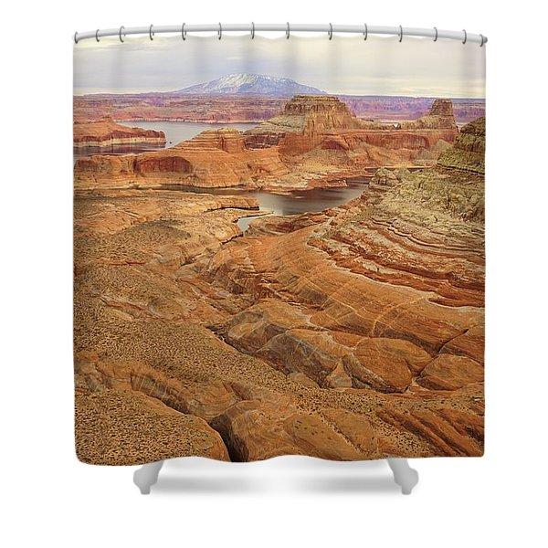 Alstrom Point Shower Curtain