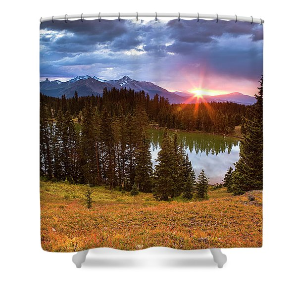 Alta Lakes Shower Curtain