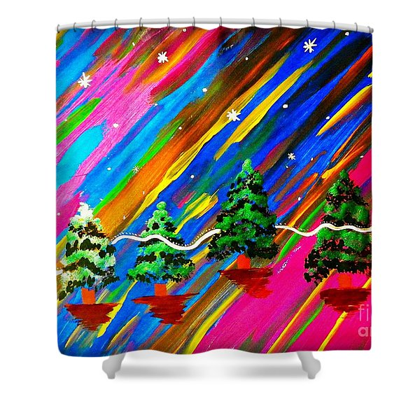 Altered States Of Consciousness Shower Curtain