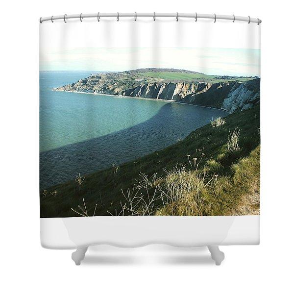 Alum Bay, Isle Of Wight Shower Curtain
