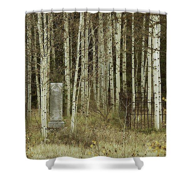 Alvarado Cemetery 42 Shower Curtain