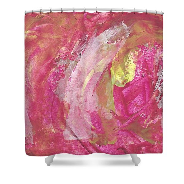 Always A Flirt  Shower Curtain