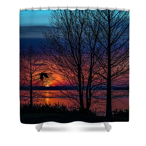 Always Beautiful Shower Curtain