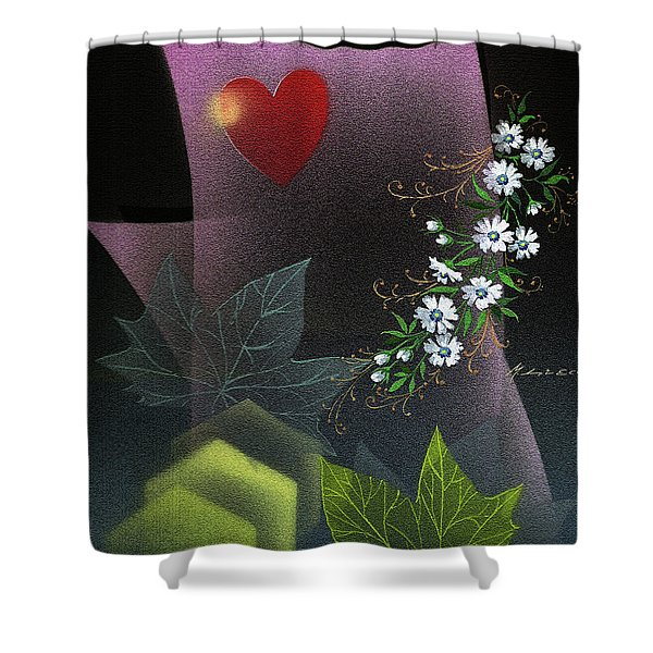 Always Spring For Love Shower Curtain