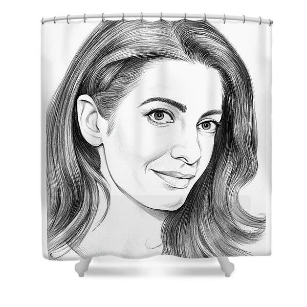 Amal Clooney Shower Curtain