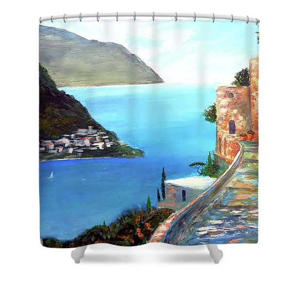 Amalfi Gem Shower Curtain