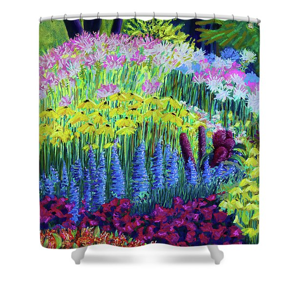 Amaranth In The Gardens At Hollandia Shower Curtain