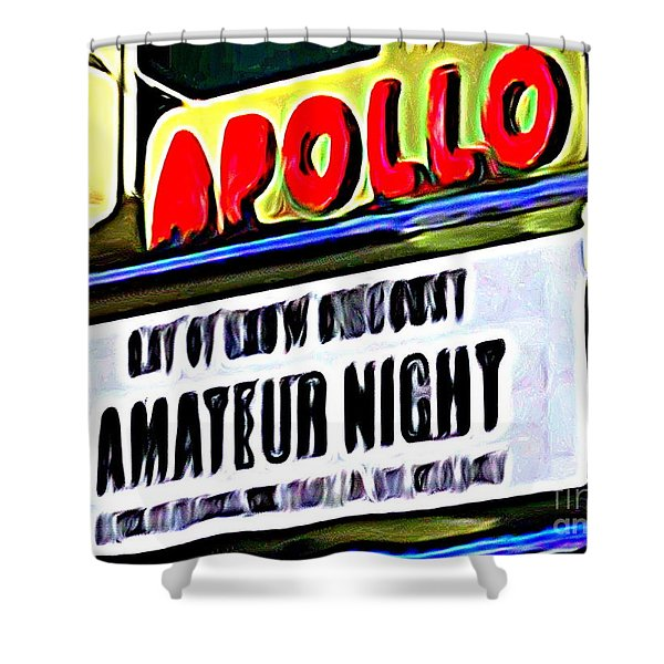 Amateur Night Shower Curtain