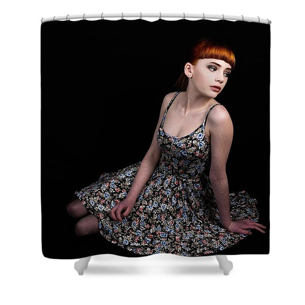 Amazing Beauty Shower Curtain