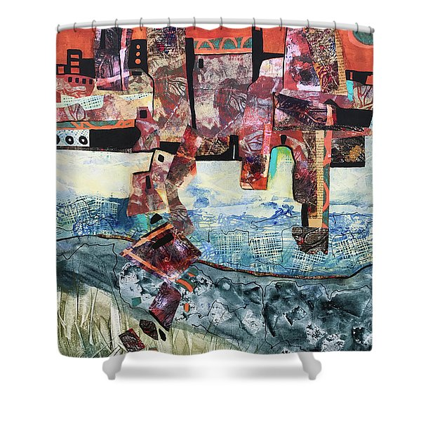 Amazing Places Shower Curtain